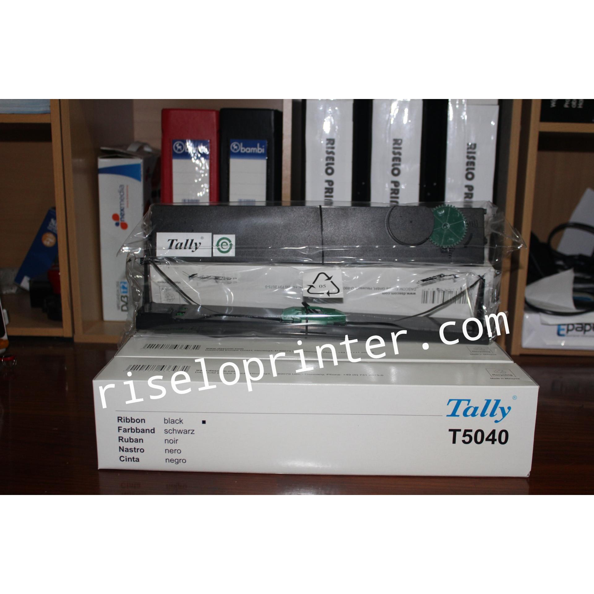 Pita Ribbon Cartridge Tally T5040 Riselo Printer Jakarta Compuprint Sp40 Plus Original
